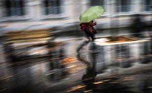 Lyon sous la pluie le 4 novembre 2014