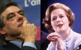 François Fillon et Margaret Thatcher