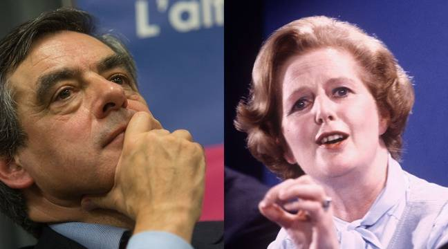 François Fillon et Margaret Thatcher – Serge Pouzet et Eugene Adebari / SIPA