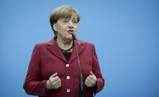 Angela Merkel le 26 janvier 2018 à Berlin