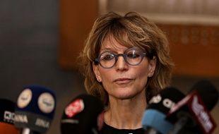 La rapporteure spéciale de l'ONU, Agnès Callamard.
