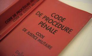 Colmar le 06 09 2011. Illustration du code de procédure pénale.  ans de réclusion en 1994.