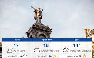 Météo Clermont-Ferrand: Prévisions du mercredi 23 juin 2021