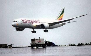 Un Boeing 787 Dreamliner de la compagnie Ethiopian Airlines.
