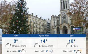 Météo Saint-Etienne: Prévisions du samedi 9 mars 2019