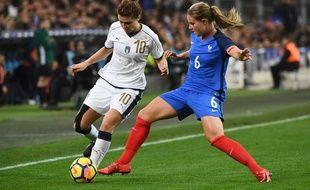 Amandine Henry et les Bleues n'ont disputé qu'un match amical à Marseille.