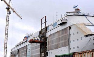 """Le croisiériste MSC Croisières a exprimé lundi """"une certaine confiance"""" dans la concrétisation d'un projet de commande de paquebots géants auprès des chantiers navals STX de Saint-Nazaire, où un accord de compétitivité vient d'être signé."""