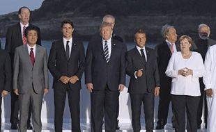 Les chefs d'Etat au sommet du G7 à Biarritz, le 25 août 2019.