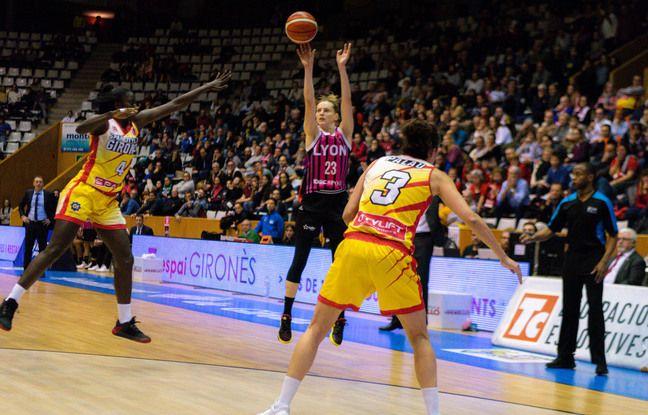 Marine Johannès est la meilleure marqueuse lyonnaise, cette saison en Euroligue, avec 14,3 points de moyenne.