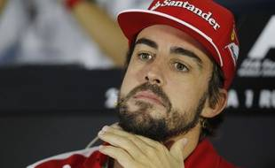 Fernando Alonso le 9 octobre 2014 à Sotchi.