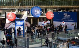 L'application MonCompteFormation a été lancée le 21 novembre dernier aux Halles à Paris.