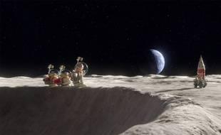 «Le voyage dans la lune» de Rasmus a. Sivertsen