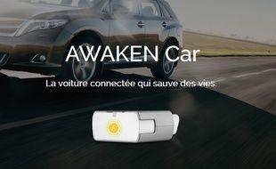 Le boîtier Awaken Car alerte les secours en cas d'accident.
