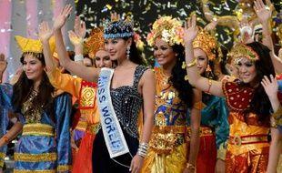 Le 8 septembre 2013, la Miss Monde 2012, Wenxia Yu, a rencontré les candidates au concours de beauté de 2013 à Nusa Dua en Indonésie.