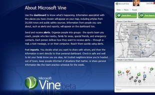 Vine, de Microsoft, pour rester en contact avec ses proches