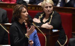 La ministre de la Santé Marisol Touraine le 9 mars 2016