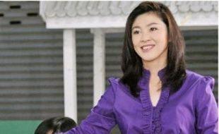 Yingluck Shinawatra, hier.