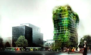 Culminant à 50 mètres, cet immeuble avant-gardiste doit voir le jour en 2015, dans le 13e arrondissement.