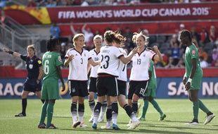 L'Allemagne a déroulé contre la Côte d'Ivoire le 7 juin 2015.