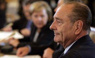 Jacques Chirac en 2006.