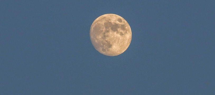 La lune, illustration