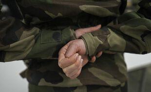 Un membre de l'armée française (illustration).