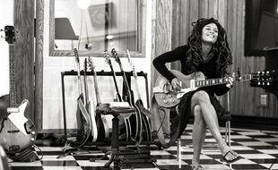 La chanteuse américaine Valerie June