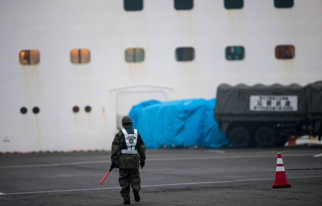 Coronavirus: 99 nouveaux cas sur le paquebot en quarantaine au Japon, 454 passagers contaminés au total