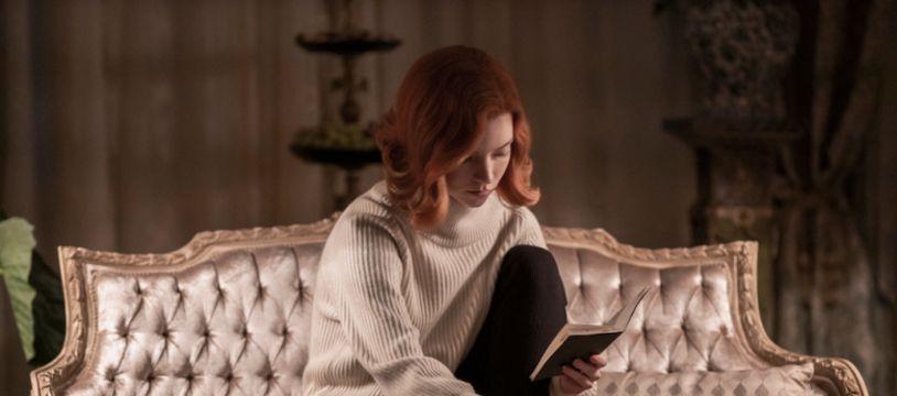 Anya Taylor-Joy dans Le jeu de la dame, sur Netflix
