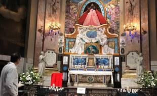 La Vierge noire de la basilique Notre-Dame de la Daurade, fraîchement restaurée, protège les femmes enceintes et les jeunes mères.