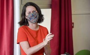 Johanna Rolland, maire sortante (PS) de Nantes.