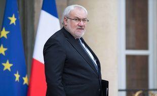 Jean-Marc Todeschini au palais de l'Elysée, le 8 mars 2017.