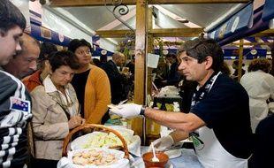 Le salon de la slow food à Turin, en octobre 2006.