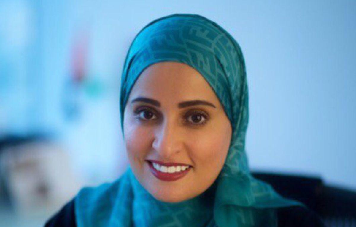 Ohood Al Roumi a été nommée ministre du Bonheur aux Emirats arabes unis.  – Uncredited/AP/SIPA