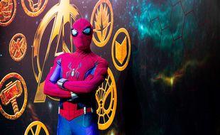 Les fans peuvent retrouver Spider-Man à la Super Hero Station du Disney's Hotel New York - The Art of Marvel
