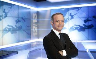 Samuel Etienne, présentateur de l'édition nationale du «12/13» sur France 3.