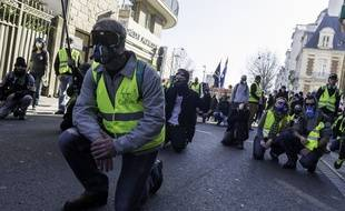 Manifestation des gilets jaunes à Rennes, le 23 février dernier.