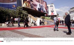 Le MIP Tv (marché international des programmes Tv) à Cannes, en 2010