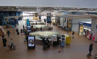 Le hall des arrivées de la nouvelle gare de Rennes, le 11 février 2019.