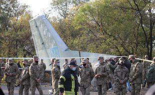 Ukraine: 26 personnes sont décédées dans le crash d'un avion de transport militaire