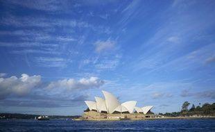 L'opéra de Sydney, en Australie.