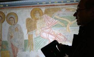 Les peintures murales de la basilique Saint-Sernin ont été restaurées afin de retrouver leurs couleurs d'origine.