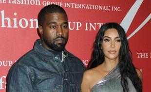 Le rappeur Kanye West et la star de téléréalité Kim Kardashian