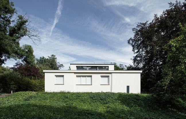 La première maison expérimentale construite par le Bauhaus, à Weimar, la « Haus am Horn».