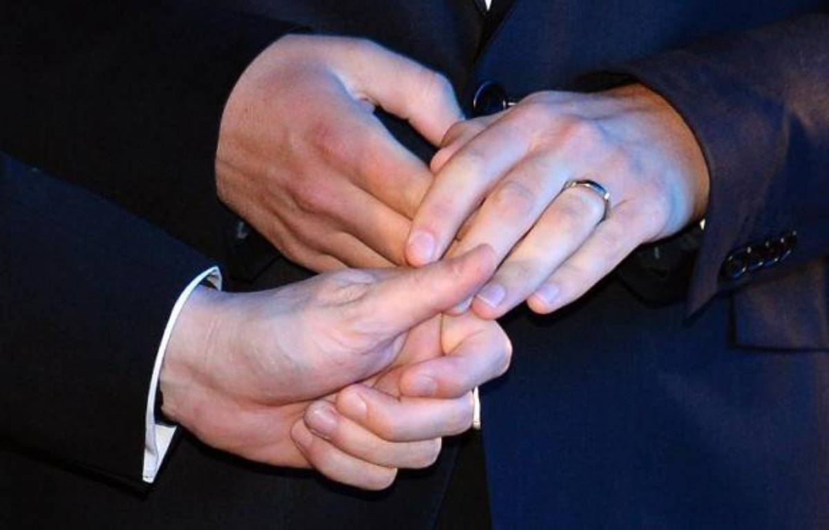 La Colombie a officiellement reconnu début juin 2017 une famille composée de trois hommes. – Gerard Julien AFP