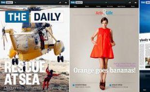 «The Daily» de News Corp, disponible uniquement sur iPad.