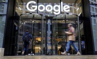 Le siège de Google à Londres, le 1er novembre 2018.