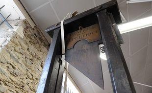 Une guillotine. (Illustration)