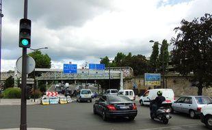 Paris, le 18 août 2014. Le convoi d'un prince saoudien a été braqué, dimanche 17 août, au niveau de la Porte de la Chapelle.