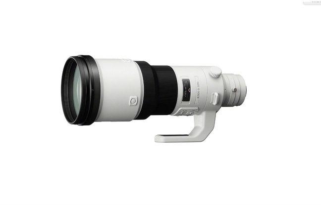 L'optique Sony 500mm f/4 G SSM vendue près de 15.000 euros.